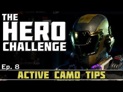 Ep. 8 - Spectre's Active Camo Kill Tips! | The Hero Challenge! (How to Earn Hero Gear)