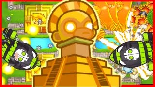 Bloons TD Battles - 3 TEMPLE OF THE MONKEY GOD! THIS IS OP! - BTD Battles With My Girlfriend!
