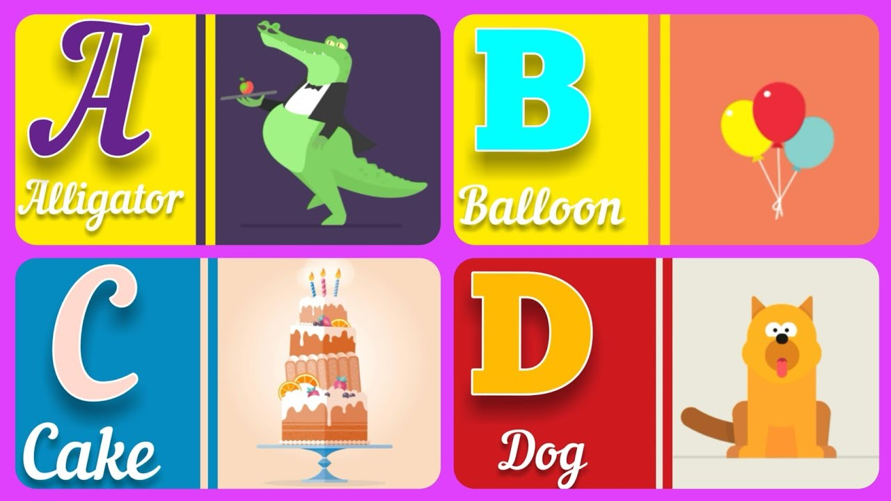 Download Abc for kids - ABC Flashcards Alphabet - Capital Letters for toddlers - Flash Cards