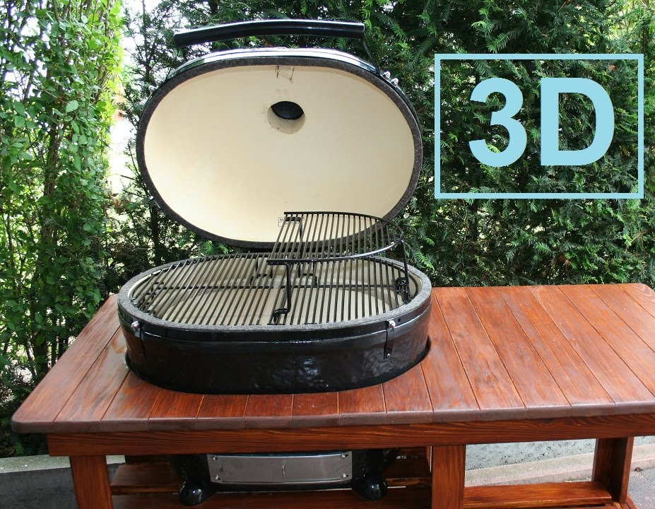 unboxing primo oval xl ceramic grill 3d version - Primo Grills