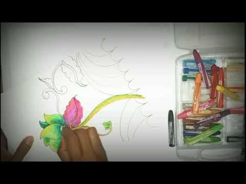 cara mudah membuat gambar dan mewarnai ragam hias ...