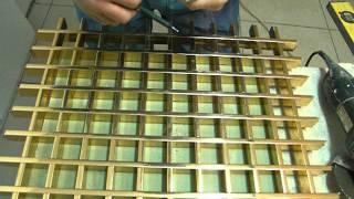 Металлические подвесные потолки: видео-инструкция по монтажу реек из металла своими руками, фото