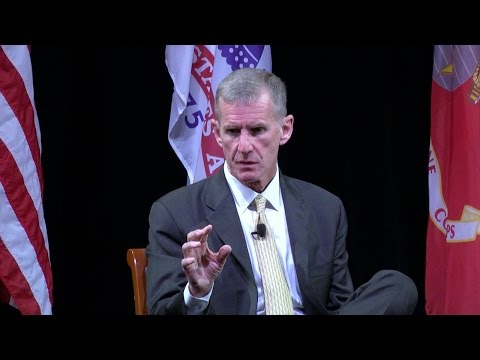 Remarks By General Stanley McChrystal, US Army (Ret.)