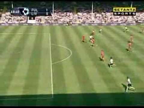 Clint Dempsey. Fulham v Liverpool