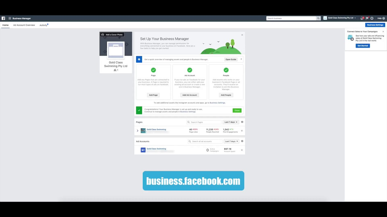 assigning facebook business manager partner permissions to an agency - Agency Manager