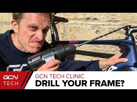 Should You Drill Your Bike Frame For Internal Cable Routing? | GCN Tech Clinic
