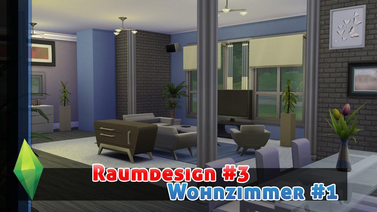 die sims 4 raumdesignroomdesign 3 wohnzimmer 1