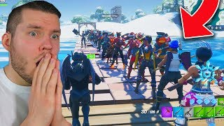 SKIN-CONTEST MIT 100 LEUTEN IN Fortnite!