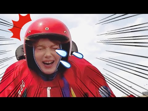 Japan's Extreme Sport: High-speed boat races|Day in MY Life as foreigner in Tokyo
