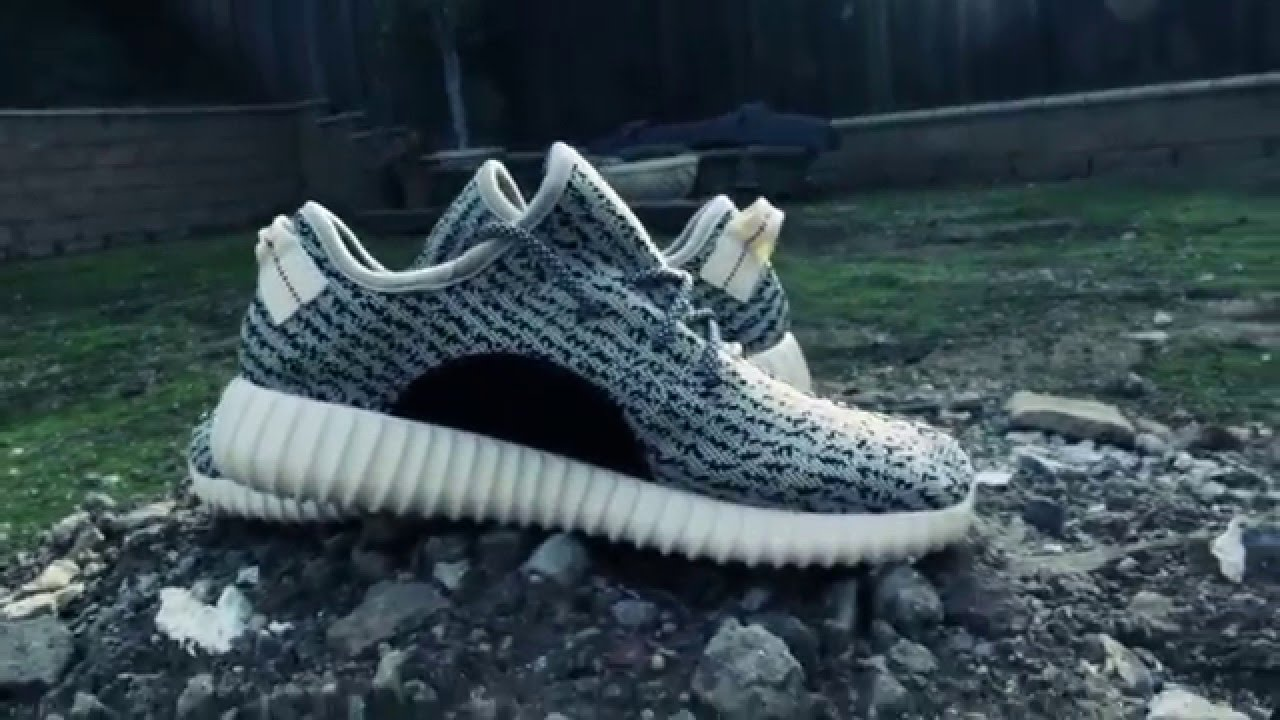 041e1a77d24 Yeezy Boost 350 Turtle Dove Replica Review - YouTube