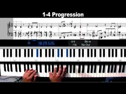 Piano Lessons I Iv Progression Classic Church Gospelpianochords