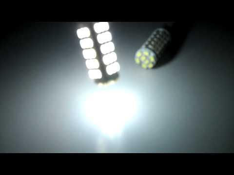 LEDbulbz : 68 SMT-LED bulb @5000K HID-White...921/906/194/168/w5w/T10