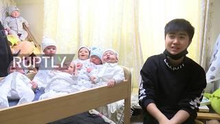 Meet the 16 lifelike baby dolls who help 23-yo Bu cope with Beijing life