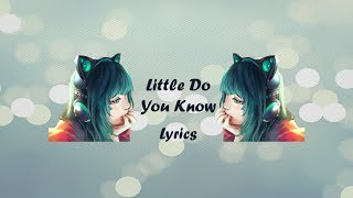 Download lagu little do you know - Alex & Sierra