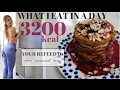 3200kcal WHAT I EAT IN A DAY || HOW TO KEEP LOSING FAT