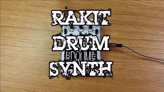 Rakit Drum Synth Demo