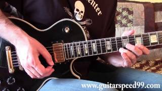 Cours de guitare - I Want It All intro (Queen)