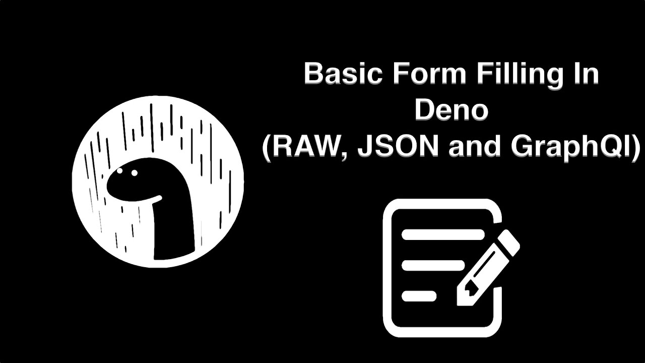 How to Post a Form Request and Get Data Inside a Deno Server