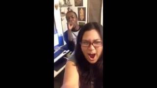 Repeat youtube video Nice song And Fun #BD singer Tashfee having fun with Her Foreign Friend.