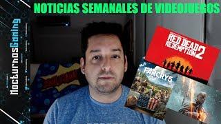 Noticias semanales de videojuegos #7 - Red dead redemption 2, destiny 2, far cry 5