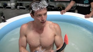 Swimming in $67,000 of Lube!