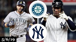 Seattle Mariners vs New York Yankees Highlights | May 6, 2019