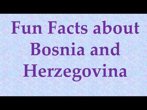 Fun Facts about Bosnia and Herzegovina