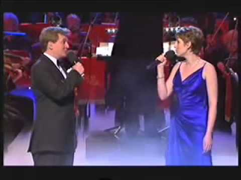 Connie Fisher and Aled Jones perform Edelweiss