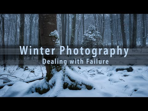 Winter Photography - Dealing With Failure