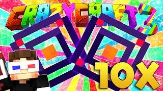 10 TANE KORKUNÇ RANDOM DUNGEON AÇIYORUZ! - Minecraft Türkçe Crazy Craft : #49