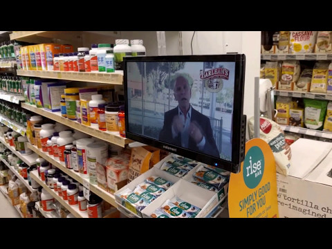"Organic Food Depot Automated Video ""Salesperson"""