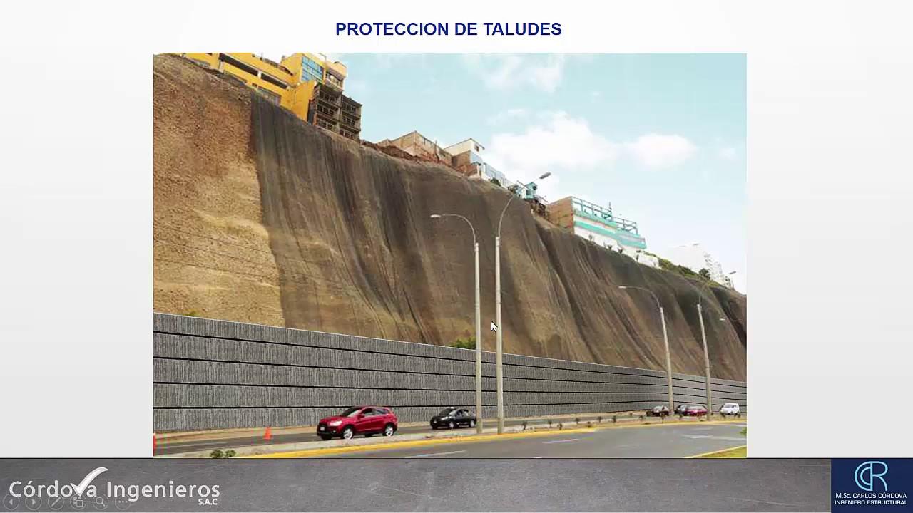 Proteccion De Taludes De La Costa Verde