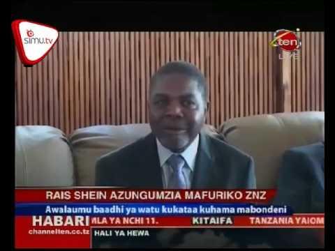 Rais Shein Azungumzia Mafuriko zanzibar
