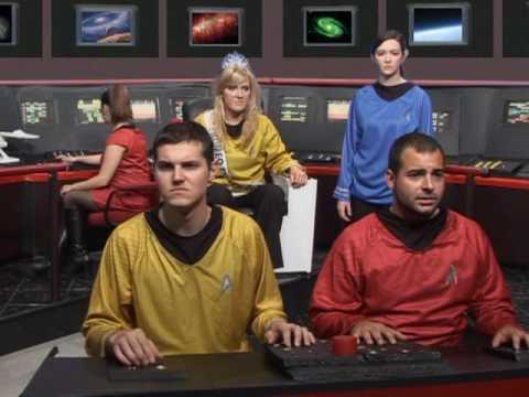 Star Trek Parody - Peach Trek