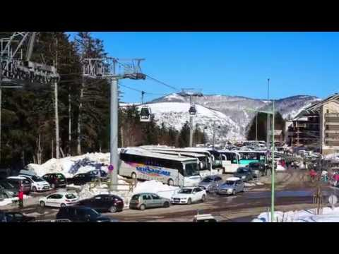 Fighting In Pyrenees[Full HD 1080P] (Time lapse, Skiing video, France, Ax-les-Thermes)