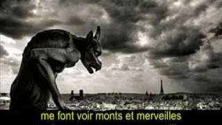 "BELLE - ""Garou, Daniel Lavoie & Patrick Fiori"".  (French - English - Español - Lyrics - Subs)"