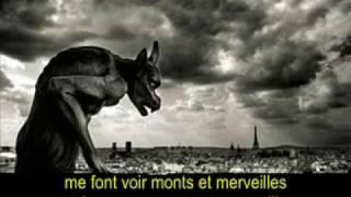 "BELLE - ""Garou, Daniel Lavoie & Patrick Fiori"".  (French - English - Español - Lyrics - Subs)"