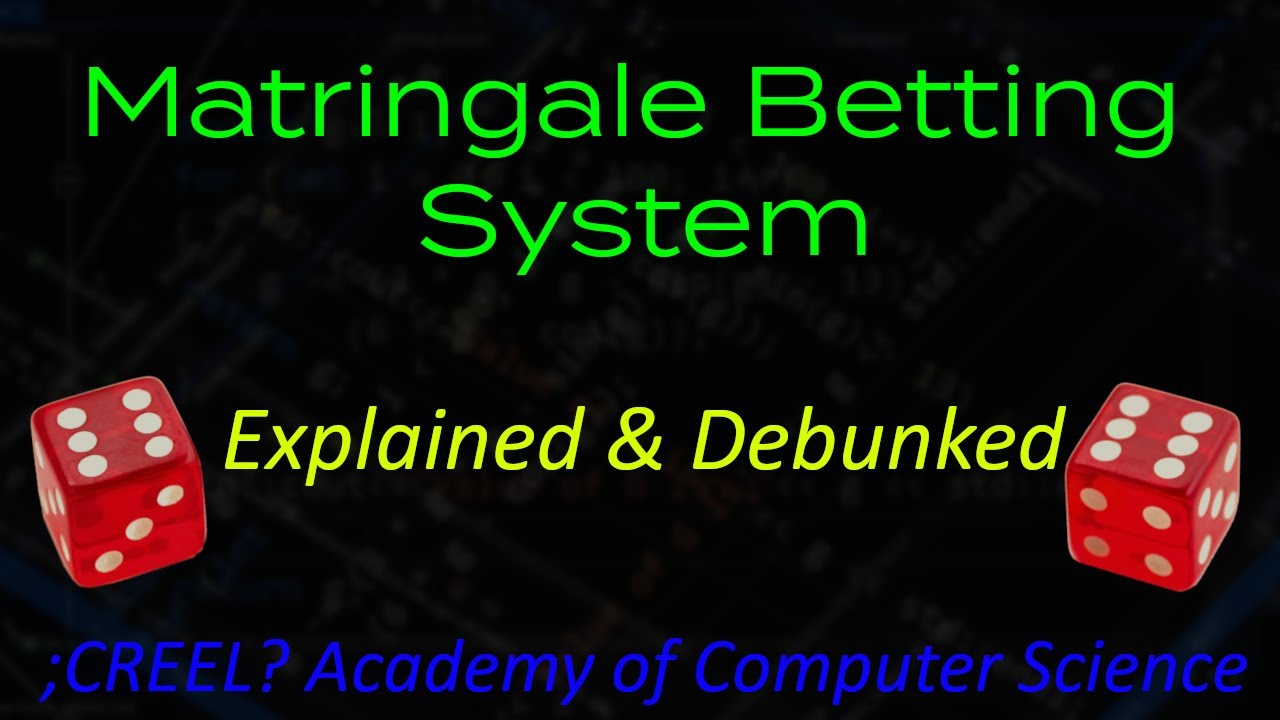 Martingale betting debunked synonyms f1 betting predictions site