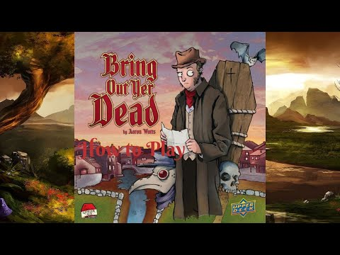 #NEW BRING OUT YER DEAD Upper Deck Board Game