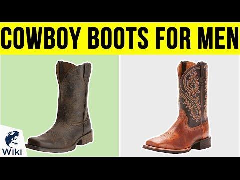 10 Best Cowboy Boots For Men 2019