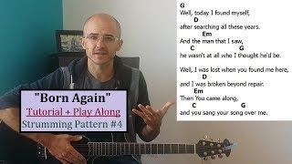 """BORN AGAIN"" Tutorial + Play Along. Beginner Guitar Lesson. Henry Braun"