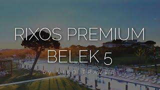 Rixos Premium Belek 5 - детальный обзор 2021 Club Prive сравнение с Voyage Belek 5