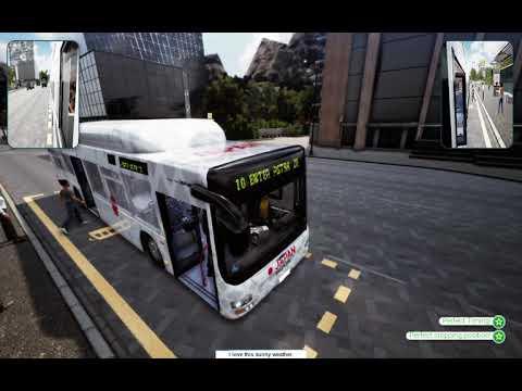 Bus Simulator 18(2018) -MAN Lion's City A21  