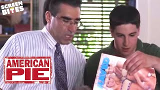 American Pie: Jim's Dad (Eugene Levy) gives Jim (Jason Biggs) a sex education chat