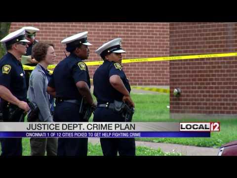Justice Department helps Cincinnati deal with violent crime