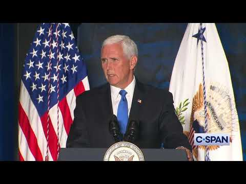 """Vice President Pence: """"What happened this weekend were acts of pure evil."""""""