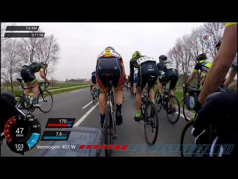 Clubcompetitie Zuiderzeeronde 14/04/2018 - #cycling Holland