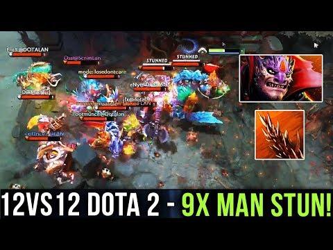 hOlyhexOr Lion 9x Man Stun in 12v12 Custom Map Dota 2 - WOMBO COMBO TIME vs Immortal Players - Dota2 thumbnail