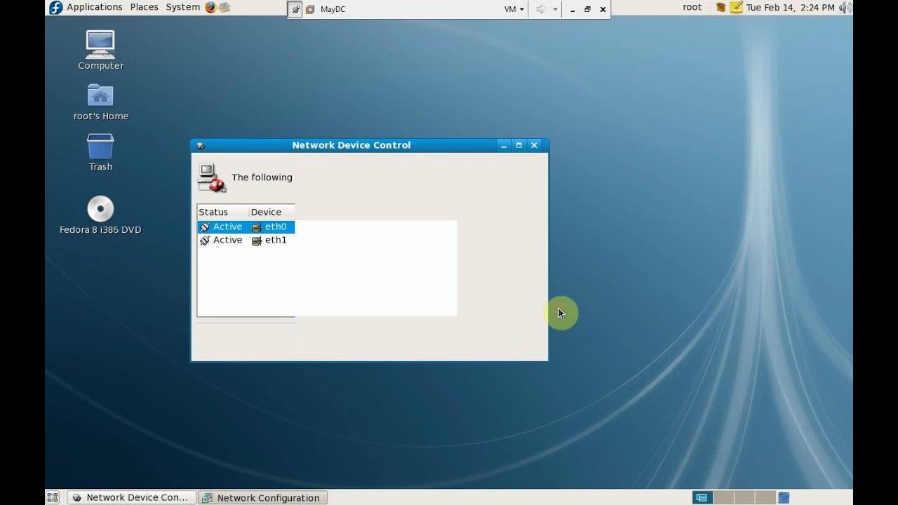Thiết lập IP tĩnh và cấu hình dịch vụ DHCP