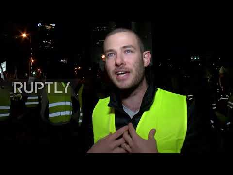Israel: Hundreds of Israeli 'Yellow Vests' protest high cost of living
